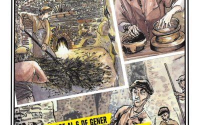 Exposición CÒMIC: TRAÇAR IDEES, TRANSMETRE PRÀCTICA de Josep Avària