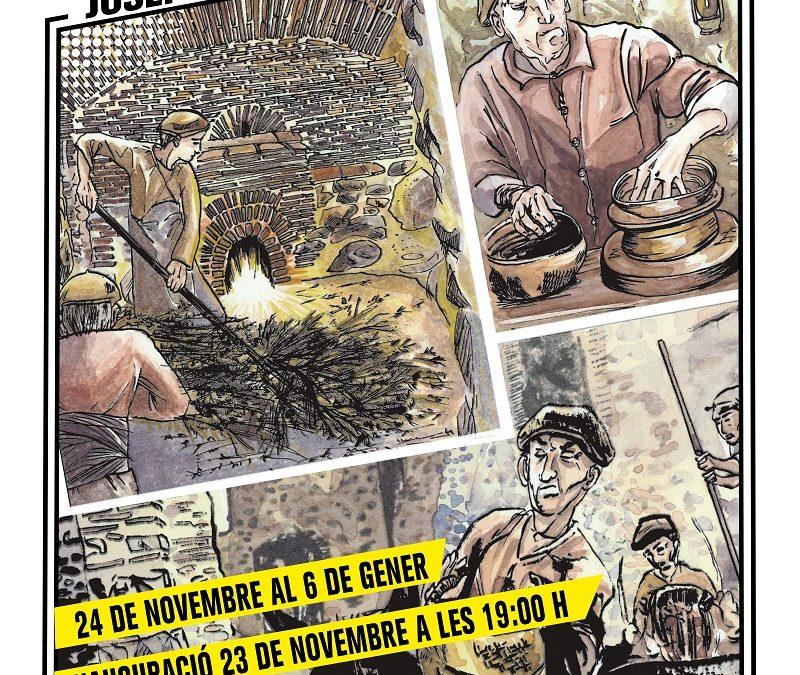 Exposició CÒMIC: TRAÇAR IDEES, TRANSMETRE PRÀCTICA de Josep Avària