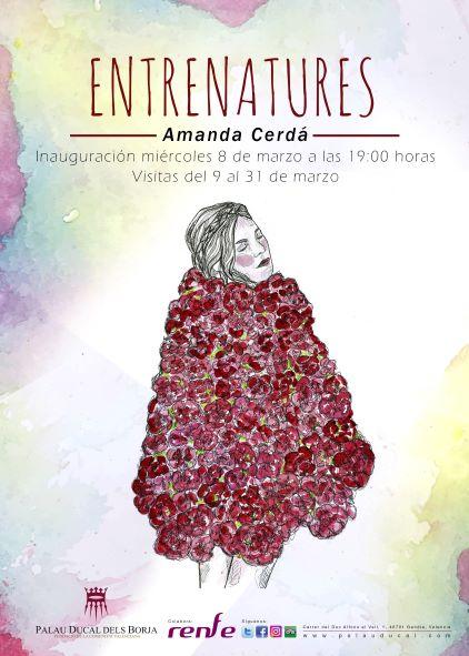 Exposición Entrenatures de Amanda Cerdá