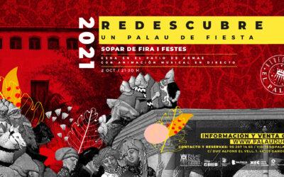 ¡VUELVEN LAS FIESTAS DE GANDIA, VUELVE LA CENA DE FIRA I FESTES!